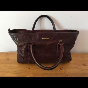 Rebecca Minkoff Maroon Handbag